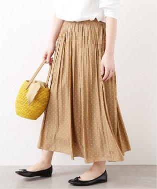 ドットギャザースカート◆