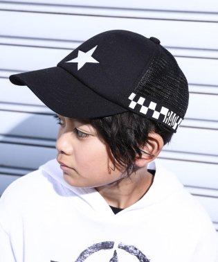【カタログ掲載】星刺繍メッシュキャップ