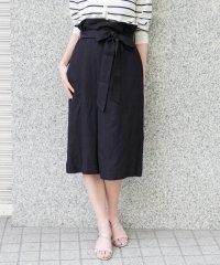 【ROSSO】ウエストリボンラップ風スカート