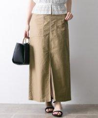 【UR】別注ベイカーロングスカート
