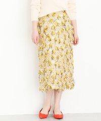 【ROSSO】フリンジタイトスカート