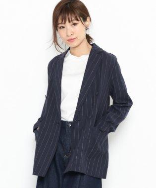 【SENSEOFPLACE】リネンブレストジャケット