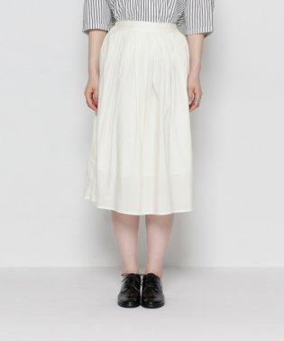 【SENSEOFPLACE】プリーツギャザースカート