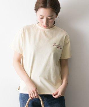 【UR】ロゴ刺繍T