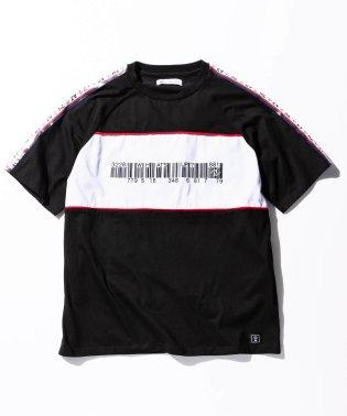 AZ by junhashimoto(エーゼイ バイ ジュンハシモト) ロゴラインビッグTシャツ