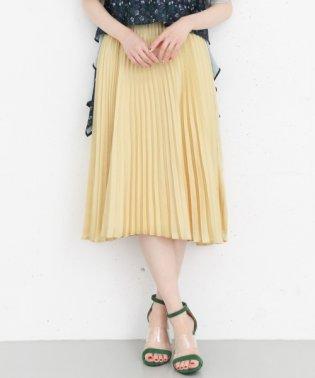 【KBF+】サテンプリーツスカート