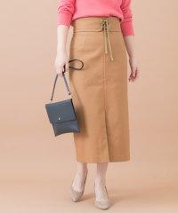 【ROSSO】ベルト付きタイトスカート