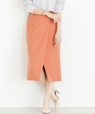 【ROSSO】フロントスリットポケットタイトスカート