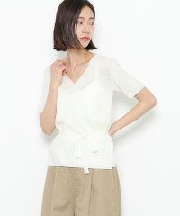 【SENSEOFPLACE】カシュクールセーター