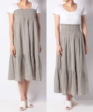 【SonnyLabel】2WAY楊柳シャーリングスカート
