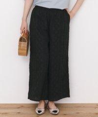 【SonnyLabel】コットンローン刺繍ワイドパンツ