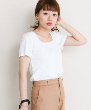 【SonnyLabel】スクエアネックリブTシャツ