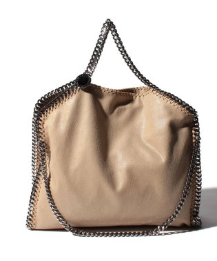 【STELLA McCARTNEY】トートバッグ/3 CHAIN SHAGGY DEER FALABELLA【CLOTTED CREAM】
