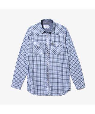 チェックウェスタンシャツ