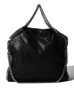 【STELLA McCARTNEY】トートバッグ/3 CHAIN SHAGGY DEER FALABELLA【BLACK】