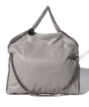 【STELLA McCARTNEY】トートバッグ/3 CHAIN SHAGGY DEER FALABELLA【LIGHT GREY】