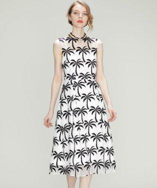 Palm tree ドレス