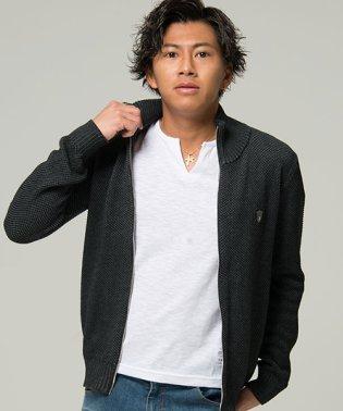 VIOLA【ヴィオラ】フルジップアップニットジャケット
