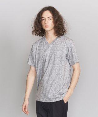 BY クリスピーコットン 1ポケット Vネック Tシャツ