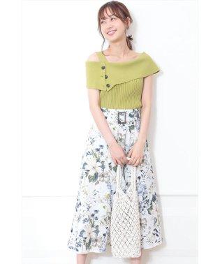 【VERY 5月号掲載】ボタニカルフラワースカート