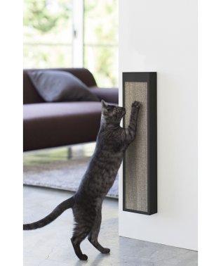 【タワー】猫の爪とぎケース タワー ブラック