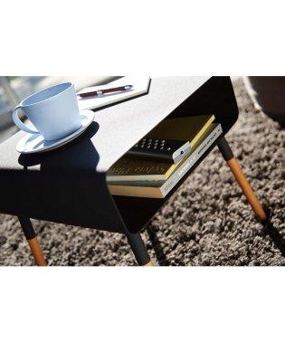 【ヤマザキ】ローサイドテーブル プレーン ブラック