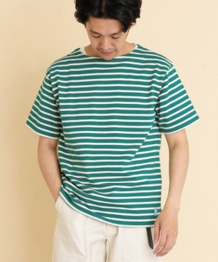 【FORK&SPOON】ボートネックボーダーS/S