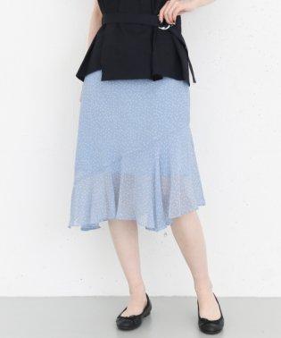 【KBF+】イレギュラーヘムフリルスカート