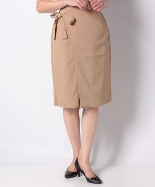 【WAREHOUSE】リボン付きラップスカート