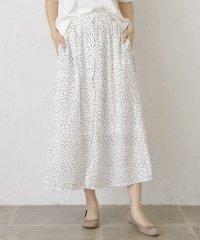 【WAREHOUSE】マエボタンドットスカート