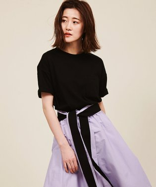 【with5月号/MORE5月号掲載】アメリカコットンクルーネックTシャツ