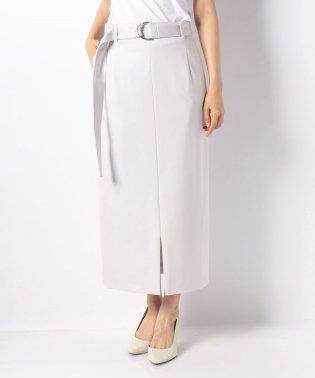 【セットアップ対応】レーヨンナイロンポンチハイウエストスカート