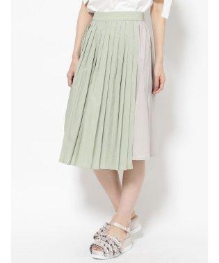 ハンブンプリーツスカート