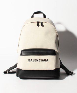 【BALENCIAGA】バックパック/NAVY BACKPACK【NATUREL/NOIR】