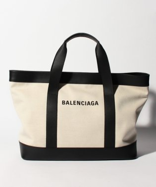 【BALENCIAGA】トートバッグ/NAVY TOTE 【NATUREL/NOIR】