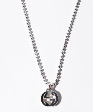 【GUCCI】interlocking G motif pendant