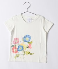 【KIDS】【WAREHOUSE】水彩TEE(MorningGlory)