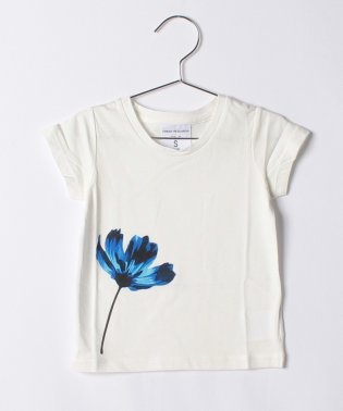 【KIDS】【WAREHOUSE】水彩TEE(Flower)