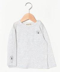 ポケット袖ライオンTシャツ