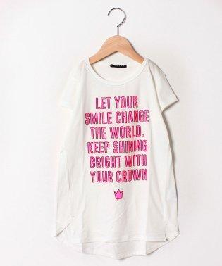 メッセージAライン半袖Tシャツ・カットソー
