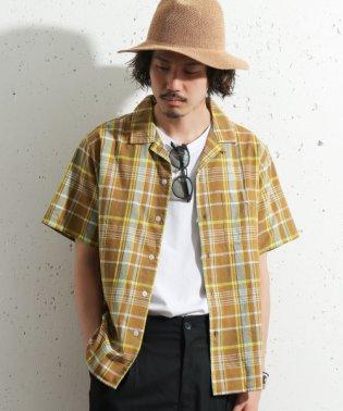 【SonnyLabel】マドラスチェック半袖シャツ