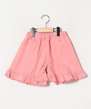 【WEB限定】裾フリルショートパンツ