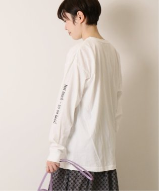 SLEEVE PRINT Tシャツ