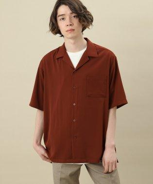 ドレープオープンカラーシャツ
