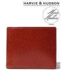 【至極の逸品】【magaseek/d fashion限定】【Harvie and Hudson】ウェブ限定イタリアンレザー二つ折り財布