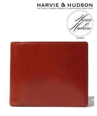 【magaseek/d fashion限定】【Harvie and Hudson】ウェブ限定イタリアンレザー二つ折り財布