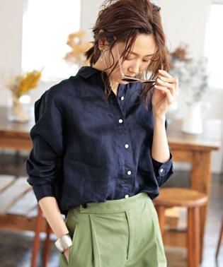 ★【Marisol 5月号掲載】フレンチリネンシャツ