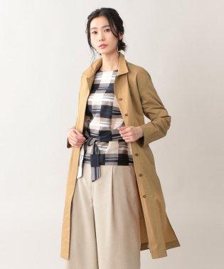 【ウォッシャブル】タスランタイプライターコート