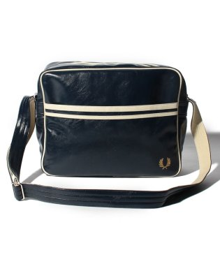【FRED PERRY】FRED PERRY L3331 CLASSIC SHOULDER BAG NAVY-ECRU