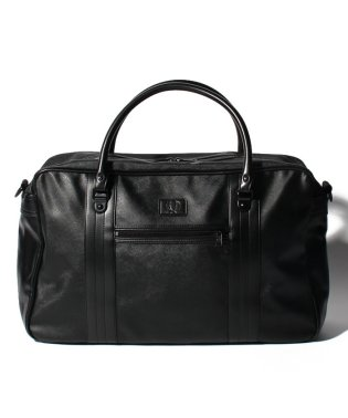 【FRED PERRY】FRED PERRY L3205 SAFFIANO OVERNIGHT BAG BLACK
